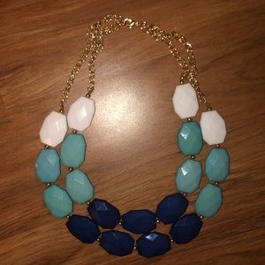 Two Strand Statement Necklace